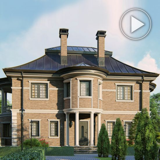 Baroque style private house project