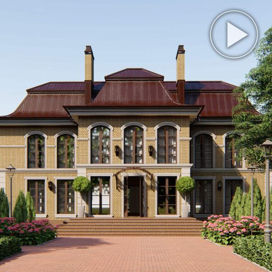 Petrovsky Baroque style country house