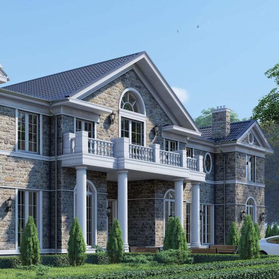 English style mansion project
